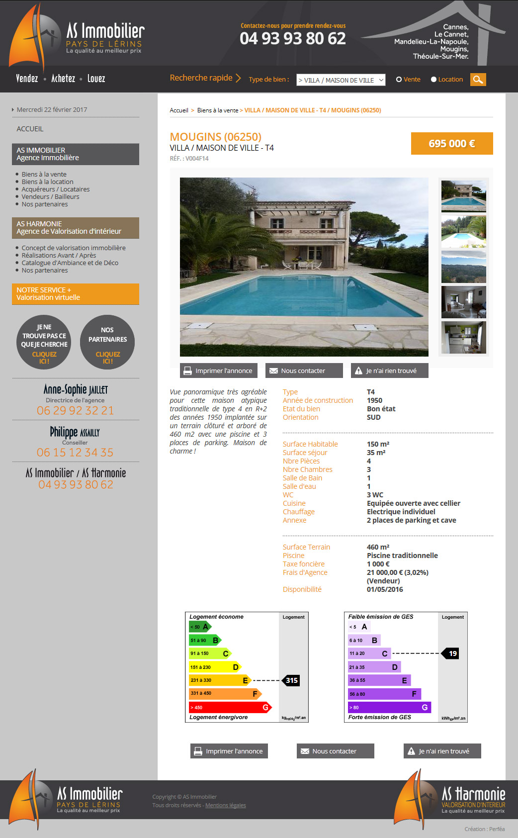 AS Immobilier Lérins